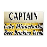 I Love Lake Minnetonka 22x14 Wall Peel