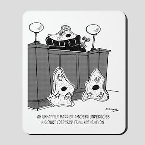Amoebas Undergo Court Ordered Separation Mousepad