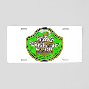 Colorado Beer Label 2 Aluminum License Plate