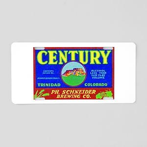 Colorado Beer Label 3 Aluminum License Plate