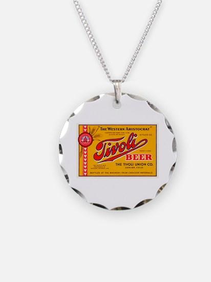 Colorado Beer Label 4 Necklace