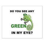 Green In My Eye Small Poster