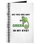 Green In My Eye Journal