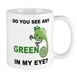Green In My Eye Mug
