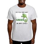 Green In My Eye Ash Grey T-Shirt