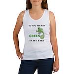 Green In My Eye Women's Tank Top