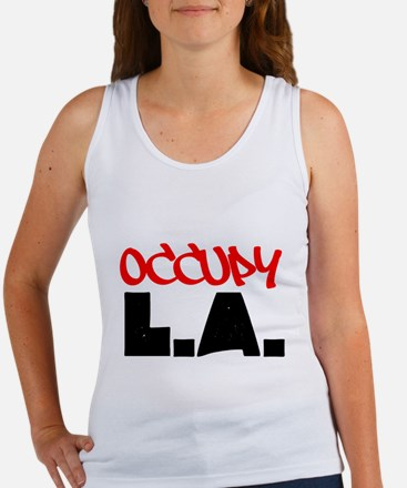 OCCUPY L.A. Women's Tank Top
