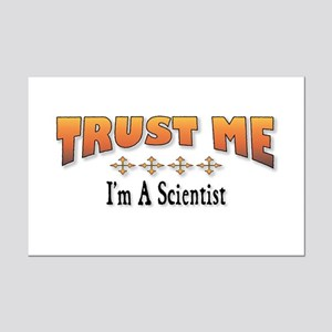 Trust Scientist Mini Poster Print
