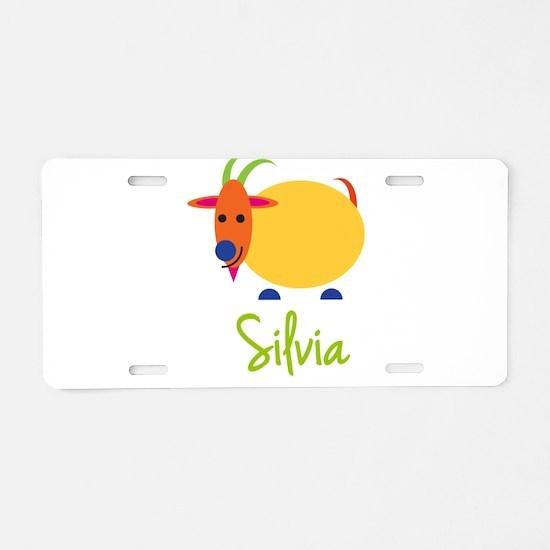Silvia The Capricorn Goat Aluminum License Plate