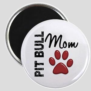 Pit Bull Mom 2 Magnet