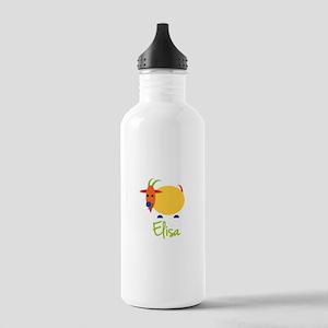 Elisa The Capricorn Goat Stainless Water Bottle 1.