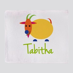 Tabitha The Capricorn Goat Throw Blanket