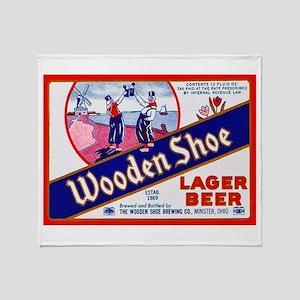 Ohio Beer Label 11 Throw Blanket