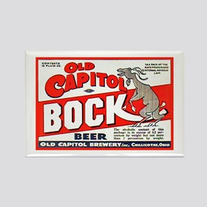 Ohio Beer Label 9 Rectangle Magnet