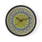 Psychedic Pagan Pentacle Wicca Wall Clock