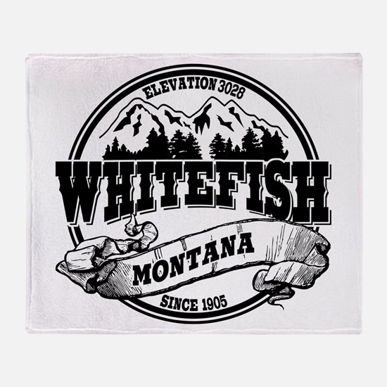 Whitefish Old Circle Throw Blanket