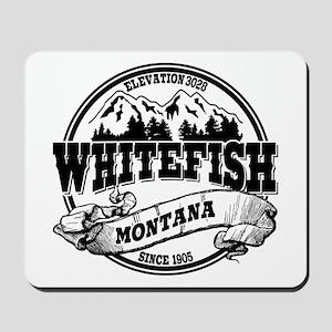 Whitefish Old Circle Mousepad