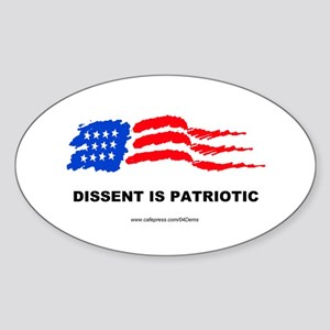 """Patriot"" Oval Sticker"