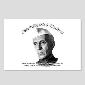 Javaharlal Nehru 01 Postcards (Package of 8)