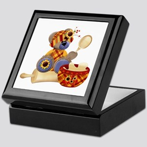 TeddyBear Chef Keepsake Box