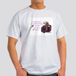 Beagle Ash Grey T-Shirt
