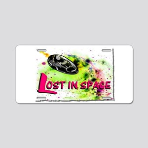 lost in space Aluminum License Plate