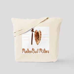 Bull Riders Tote Bag