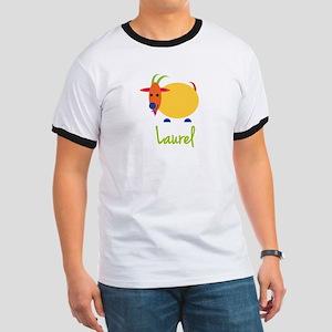 Laurel The Capricorn Goat Ringer T