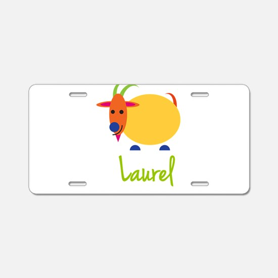 Laurel The Capricorn Goat Aluminum License Plate