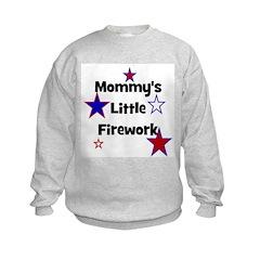 Mommy's Little Firework Sweatshirt