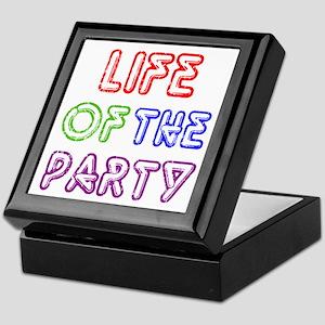 Life of the Party Keepsake Box