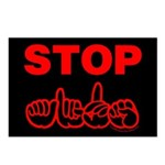 Stop AIDS Postcards (Package of 8)