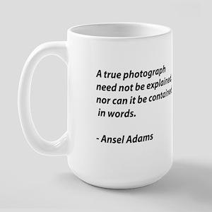 Ansel Adams quote Large Mug