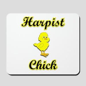 Harpist Chick Mousepad