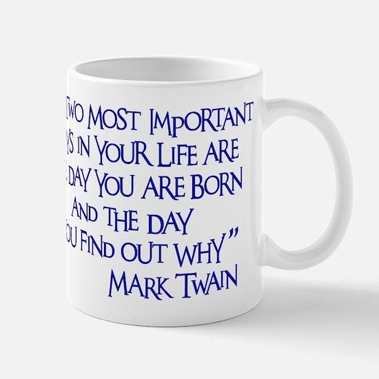 Important Days Mug