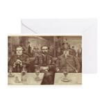 Absinthe Professors Greeting Cards (Pk of 10)