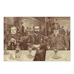 Absinthe Professors Postcards (Package of 8)