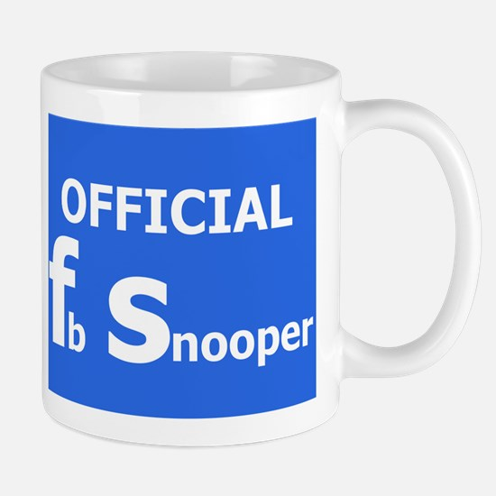 Official Fb snooper Mug