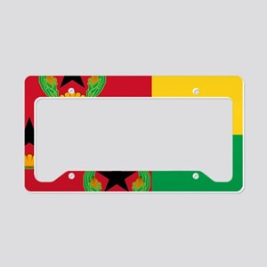 Cabo Verde Historic Flag License Plate Holder
