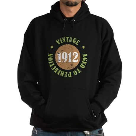 Vintage 1912 Aged To Perfection Hoodie (dark)