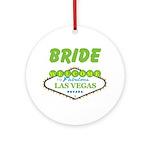 BRIDE Ornament (Round)
