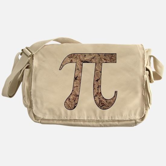 Chocolate Pi Messenger Bag