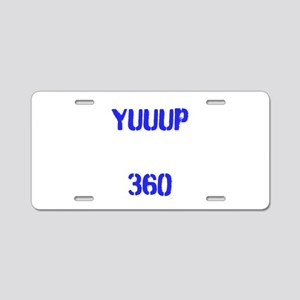 YUUUP 360 Aluminum License Plate