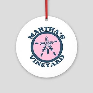 Martha's Vineyard MA - Sand Dollar Design. Ornamen