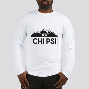 Chi Psi Mountains Long Sleeve T-Shirt