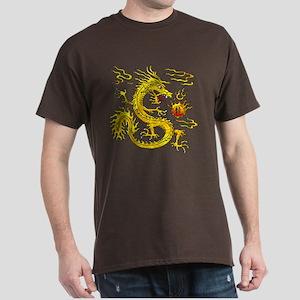 Golden Dragon Dark T-Shirt