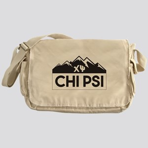 Chi Psi Mountains Messenger Bag