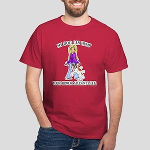 Bulldog Honor Student Black T-Shirt