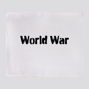World War Throw Blanket