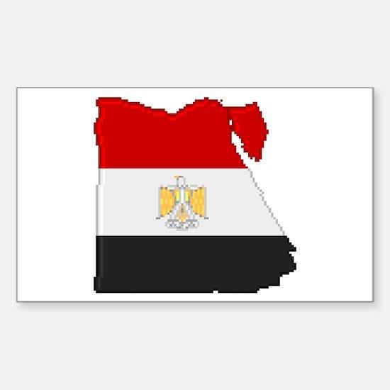 """Pixel Egypt"" Rectangle Decal"